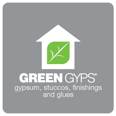 Green Gyps: gessi, stucchi, rasanti e colle
